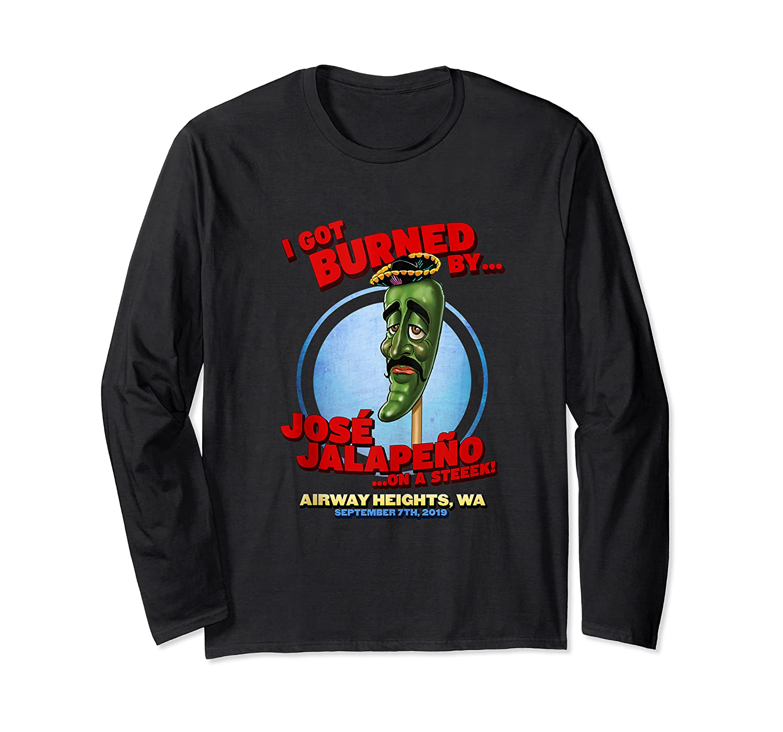 Jose Jalapeno On A Stick Airway Heights Wa Tank Top Shirts Long Sleeve T-shirt