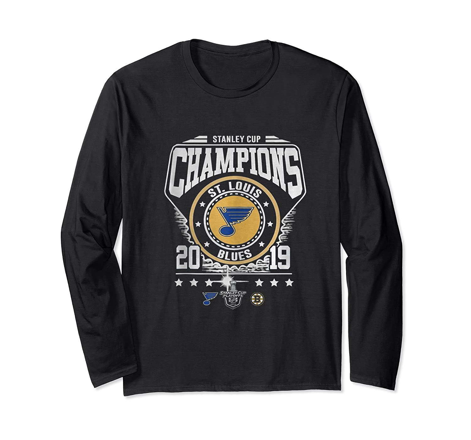 Best Gift Stanley St-louis Cup Blues Champions 2019 Tank Top Shirts Long Sleeve T-shirt