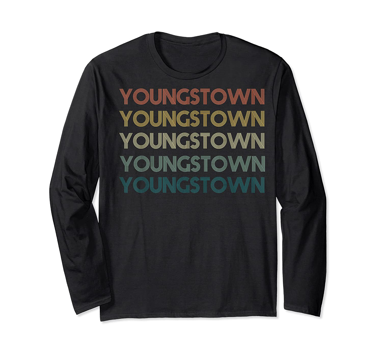 Stown Ohio Pride Vintage State Retro 70s Ohio Shirts Long Sleeve T-shirt