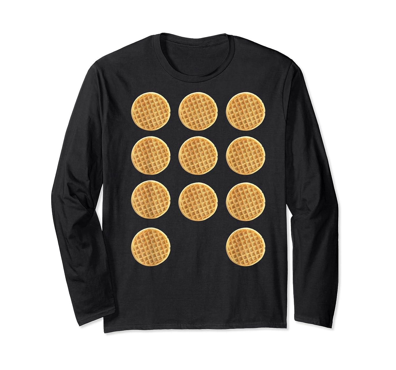 Eleven 11 Waffles T Shirt Tee Long Sleeve T-shirt