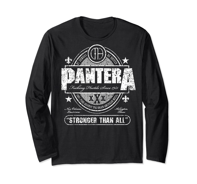 Pantera Stronger Than All Beer Mat Shirts Long Sleeve T-shirt