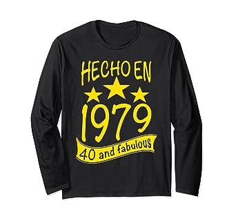 Amazon.com: Hecho en 1979 I 40 And Fabulous I Para Fiesta de ...