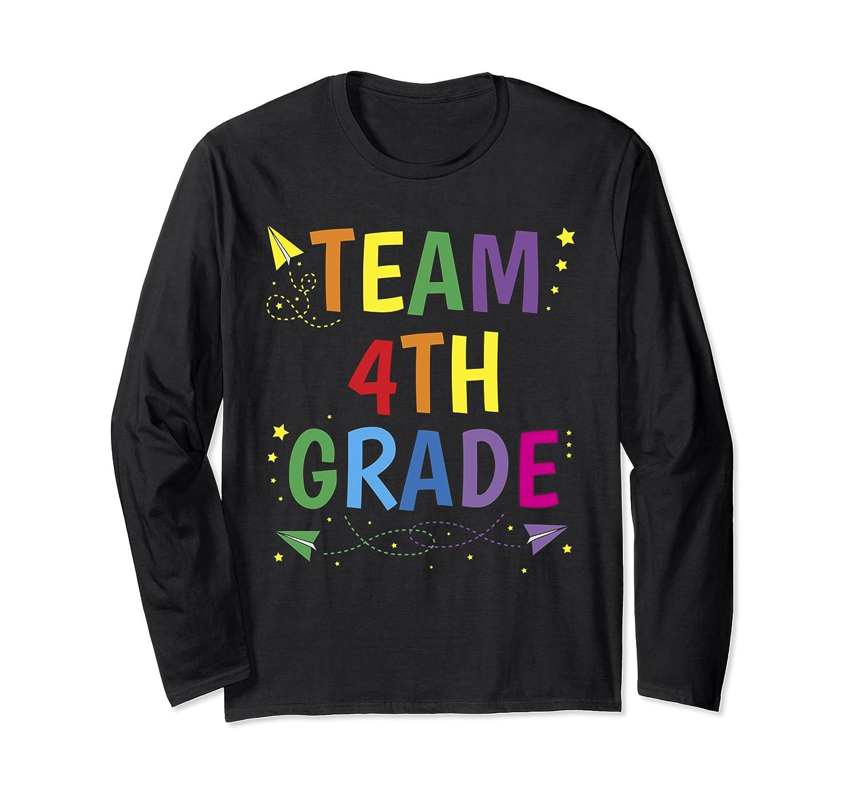 Team 4th Fourth Grade Tea 1st Day Of School T Shirt