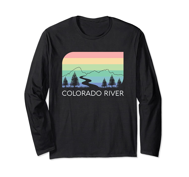 Colorado River Retro Vintage Rocky Mountains Nevada Utah Rio Shirts