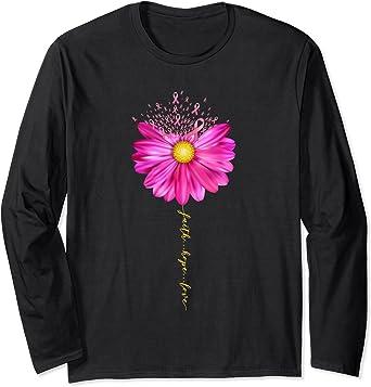 Daisy flower womens feminist shirt gift for her girl power faith hope love breast cancer birthday gift womens daisy flowersvg jpg png dxf