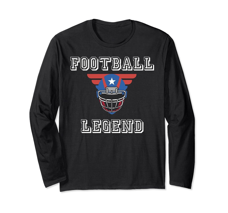 Football Legend Funny American Patriot Team Gift Shirts