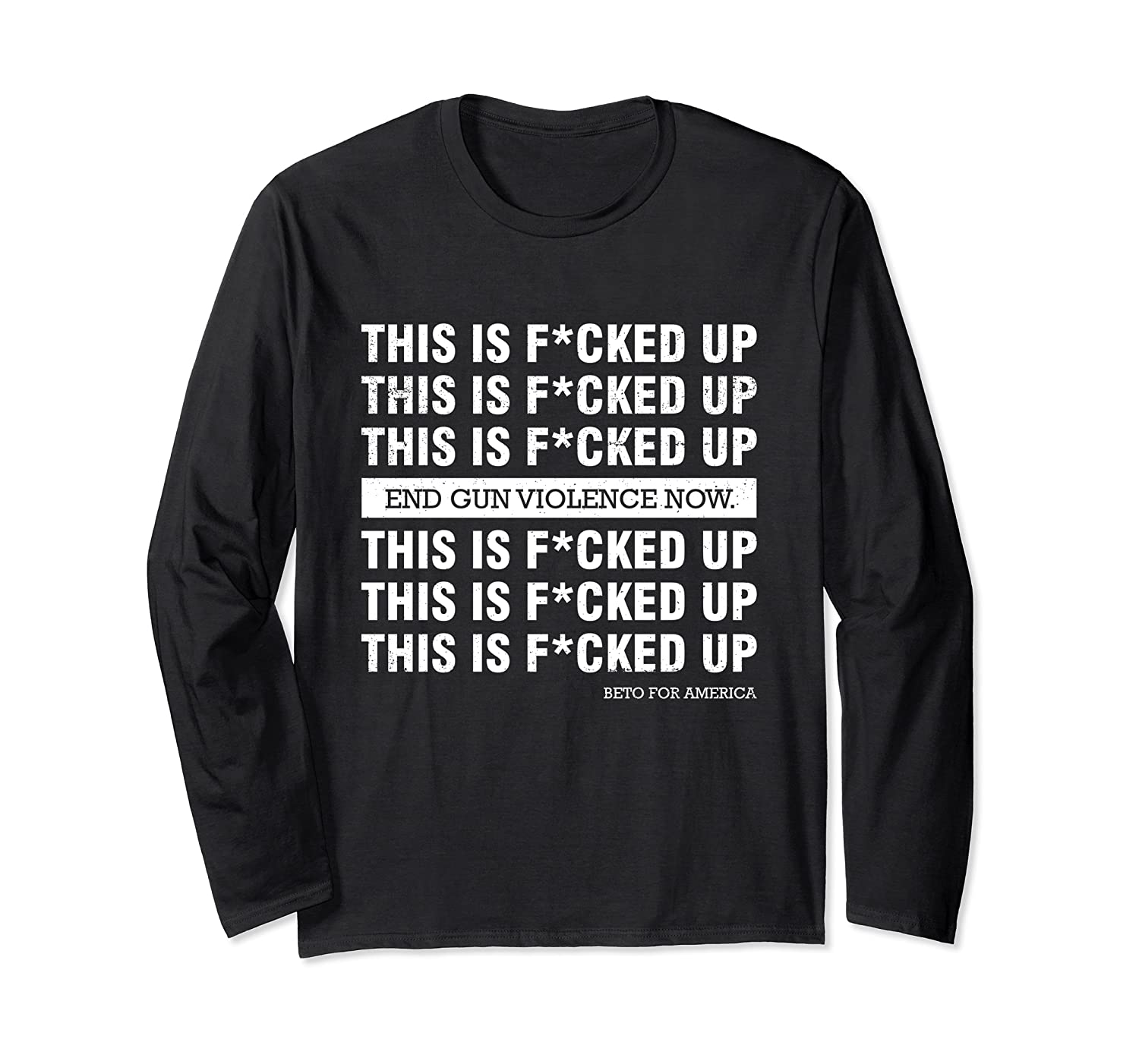 This Is Fucked Up President Funny Beto For America Gift T Shirt