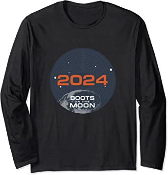 Netflix Space Force 2024 Boots On The Moon Manche Longue