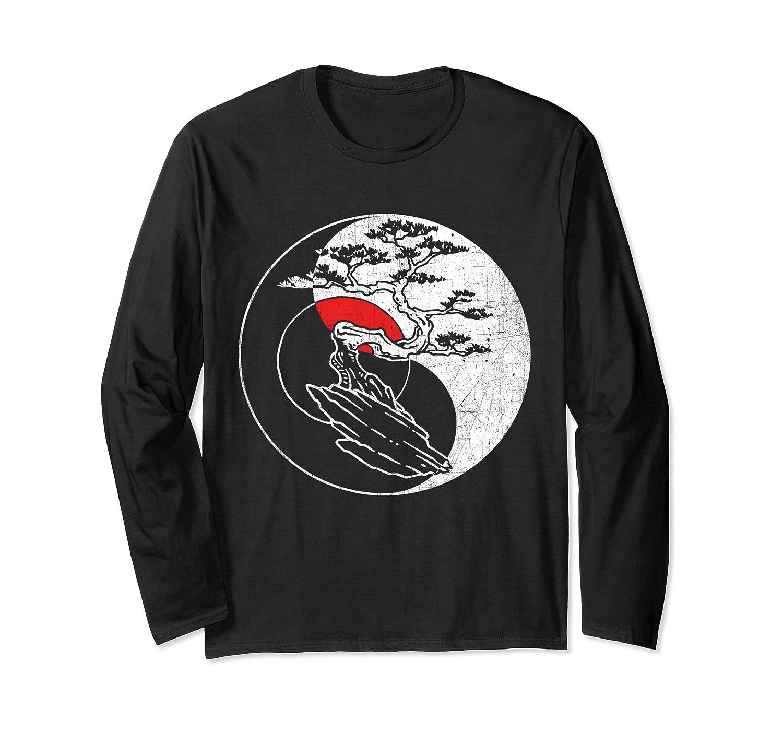 Spirit Soul Yin Yang Bonsai Tree Meditation Shirts