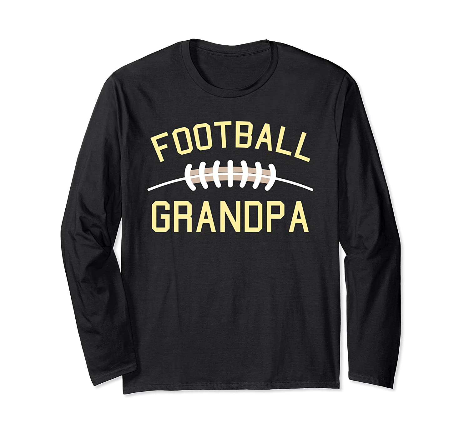 Football Grandpa I Decorative Football Outfit for Women Long Sleeve T-Shirt-TH