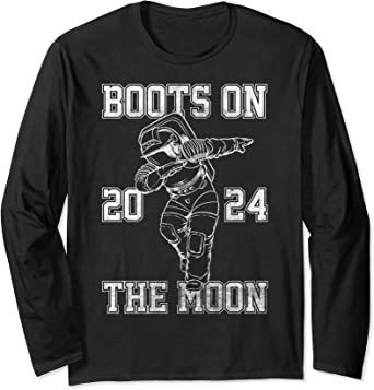 Netflix Space Force Boots On The Moon 2024 Manche Longue