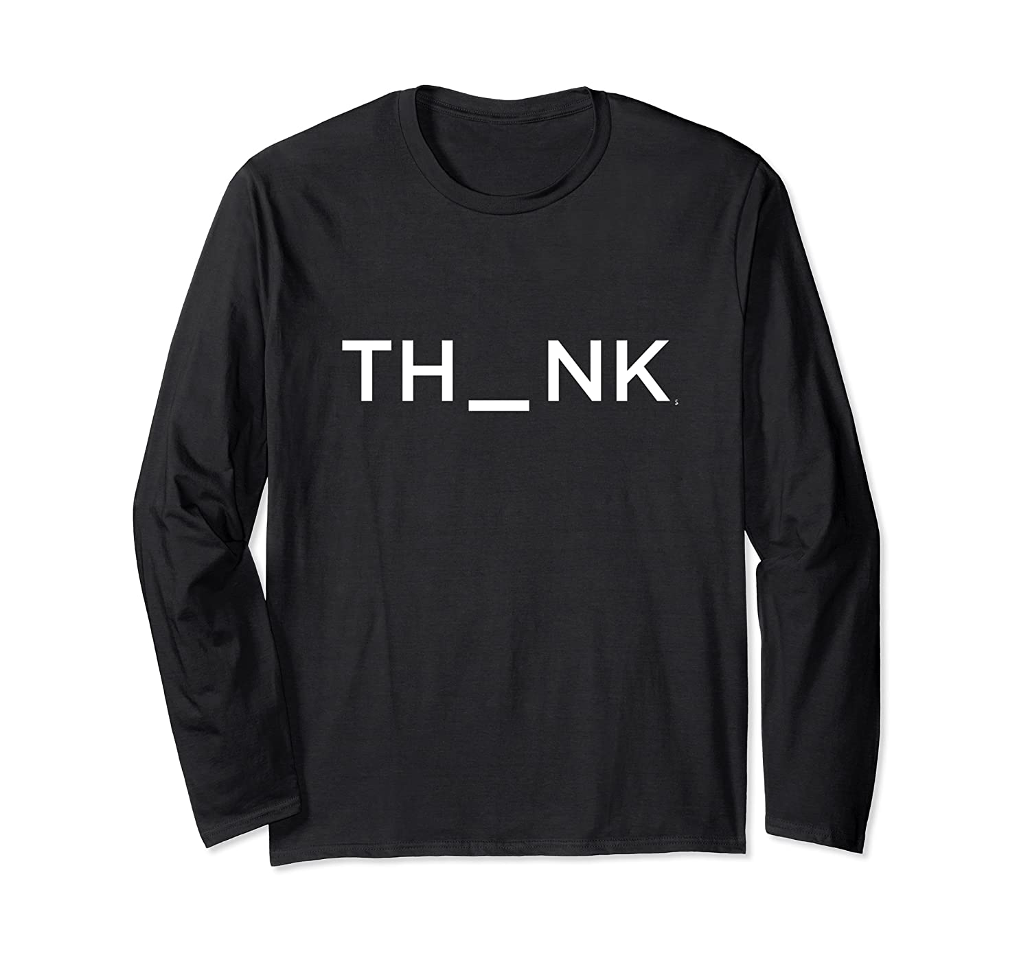 Think Mind Puzzle Decode Typographic Gift T Shirt