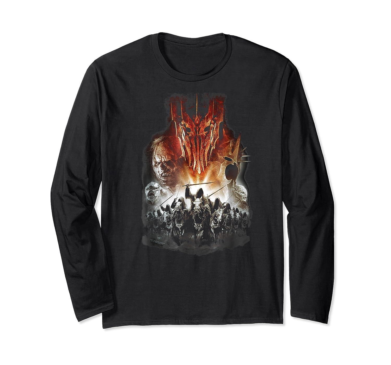 Lord Of The Rings Evil Rising Shirts Long Sleeve T-shirt