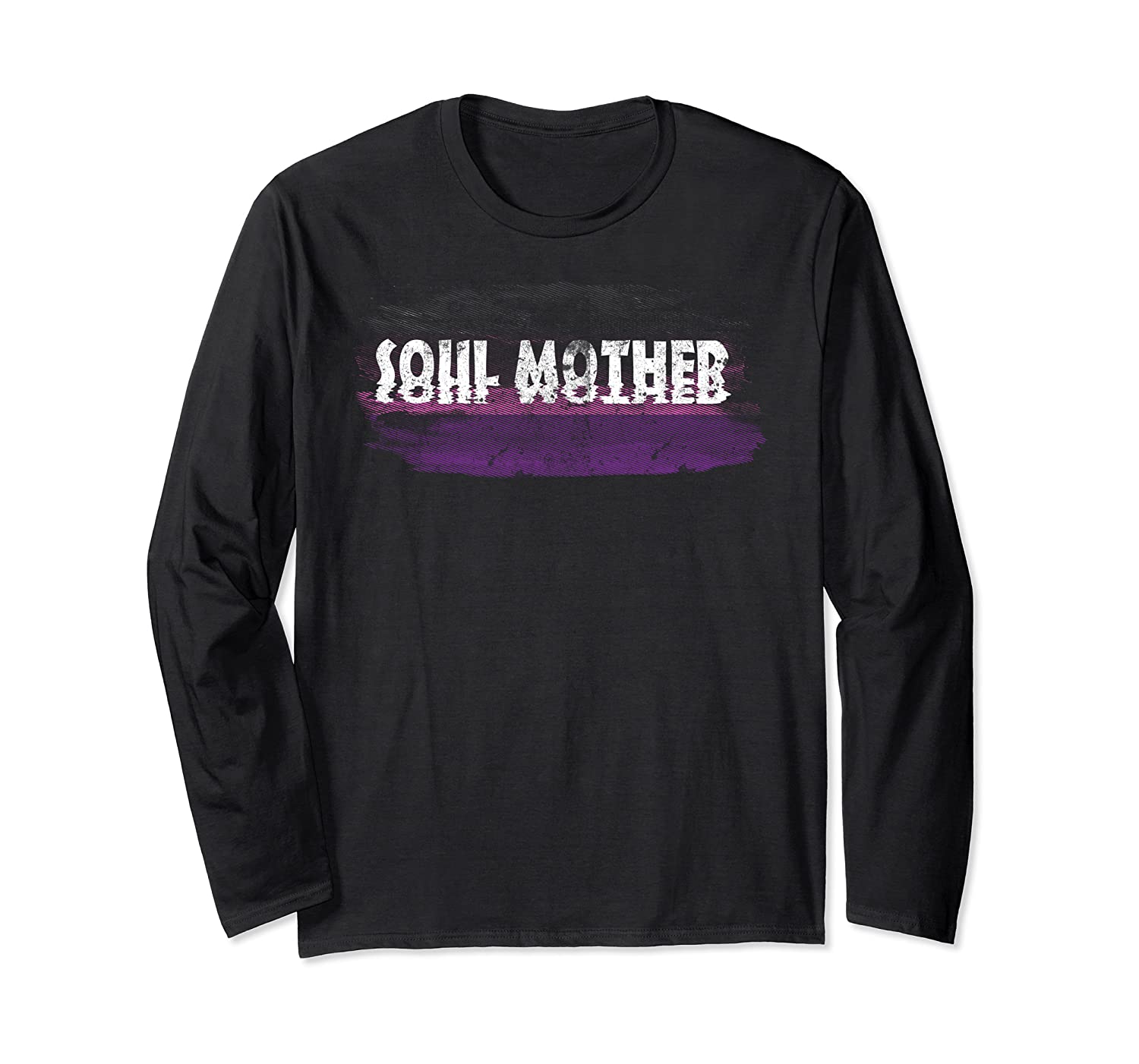 Soul Mother Distressed T Shirt