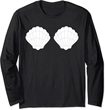 Mermaid Sea Shell Bra Costume T-Shirt