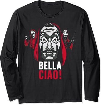 Netflix La Casa De Papel Masked Bella Ciao! Manche Longue