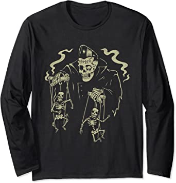 Horror Greaser Zombie Puppet Master Pyschobilly T-Shirt