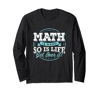 Amazon.com: Camiseta de matemáticas para profesor, regalo de ...