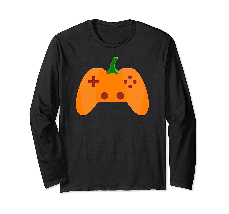 Halloween Video Game Pumpkin Funny Costume Gamer Shirts