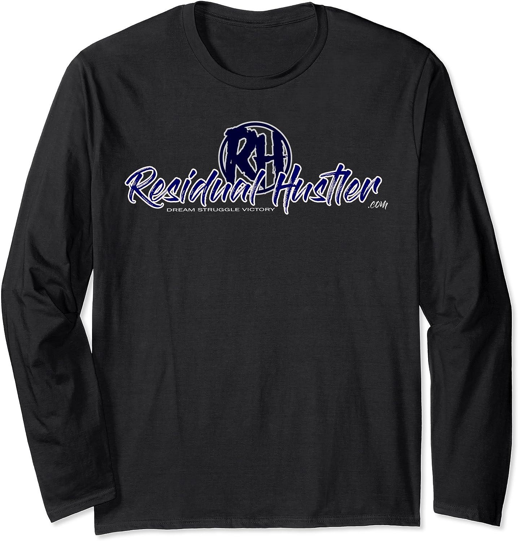 Amazon.com: Residual Hustler .com Long Sleeve T-Shirt