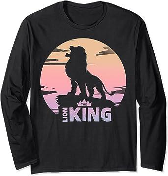 Disney The Lion King Live Action Sunset Pride Rock Poster Manche Longue