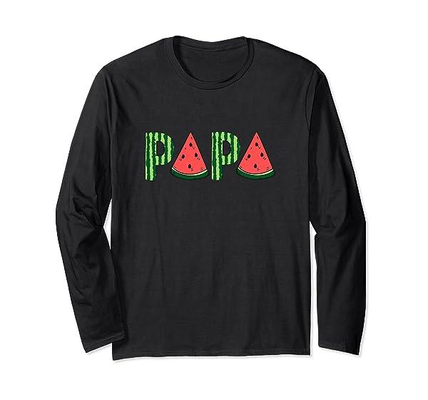 Summer Vacation Papa Watermelon Gift Father Day T Shirt T Shirt