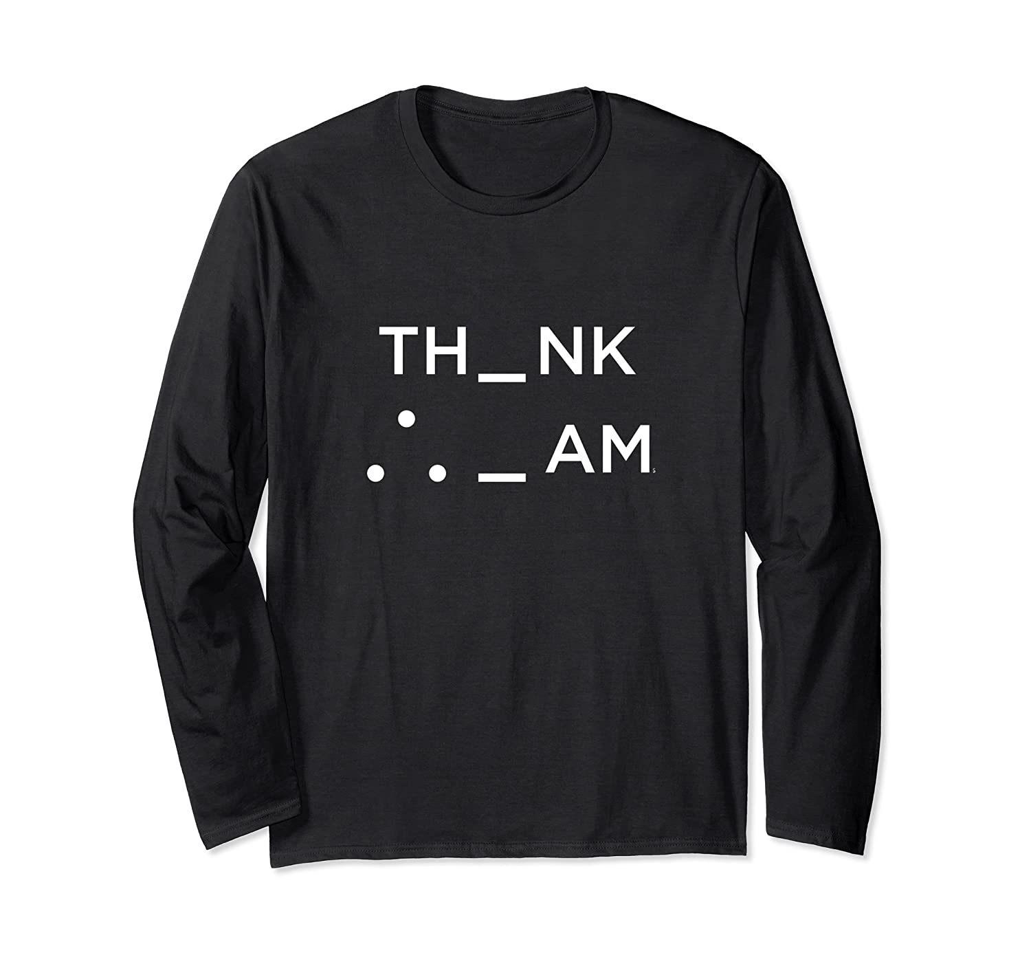 I Think Therefore I Am Puzzle Decode Gift T Shirt