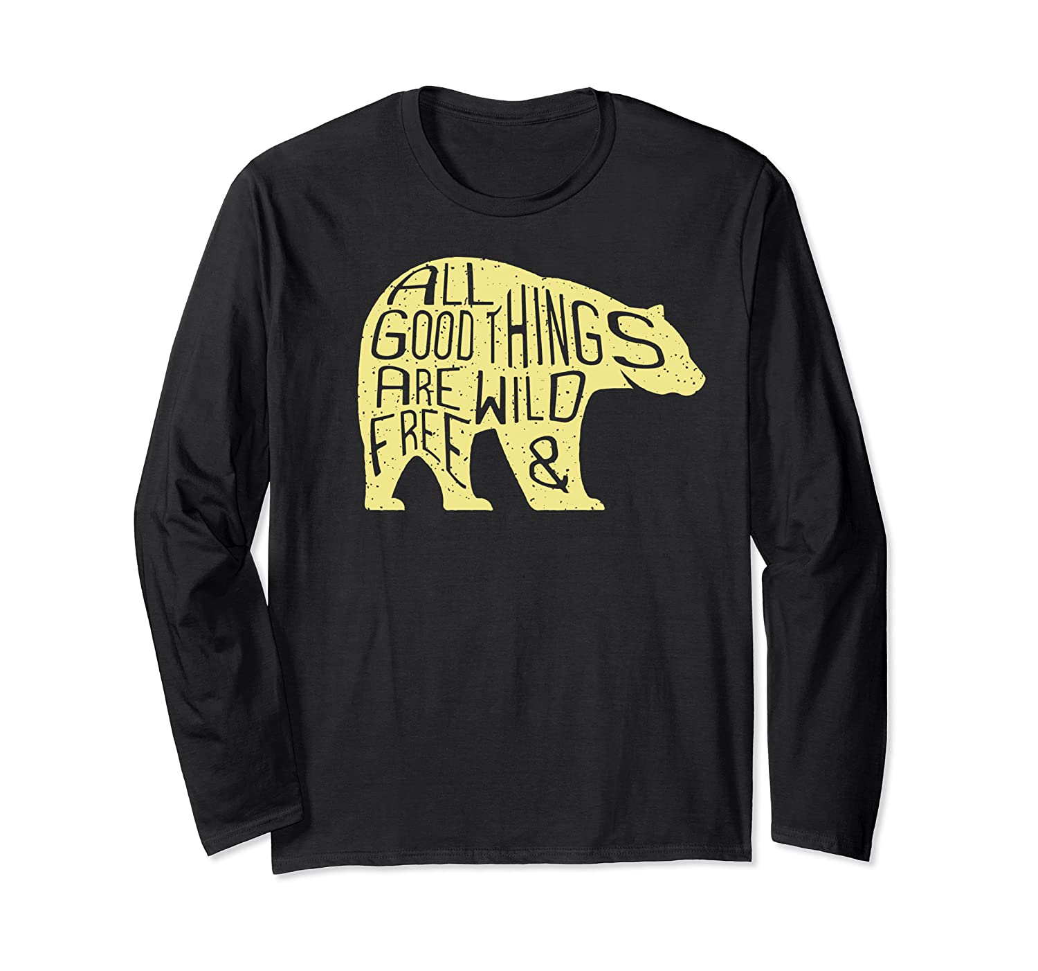 Thoreau Nature Poetry All Good Things Are Wild And Free Shirts