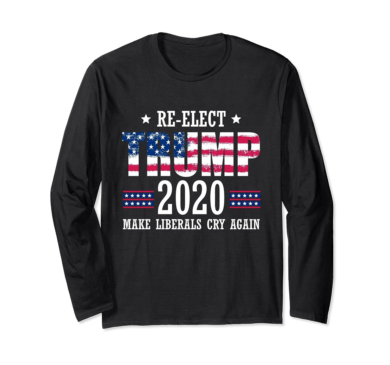Trump 2020 Make Liberals Cry Again Donald Trump Election T Shirt