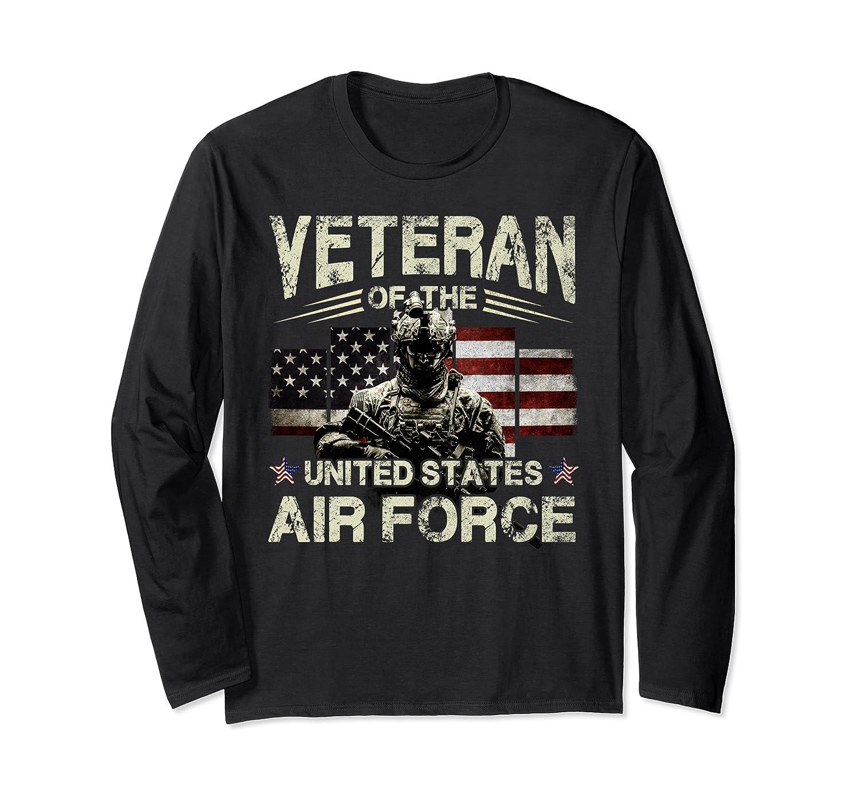 Air Force Veteran  Veteran Of The United States Air Force Long Sleeve T-Shirt