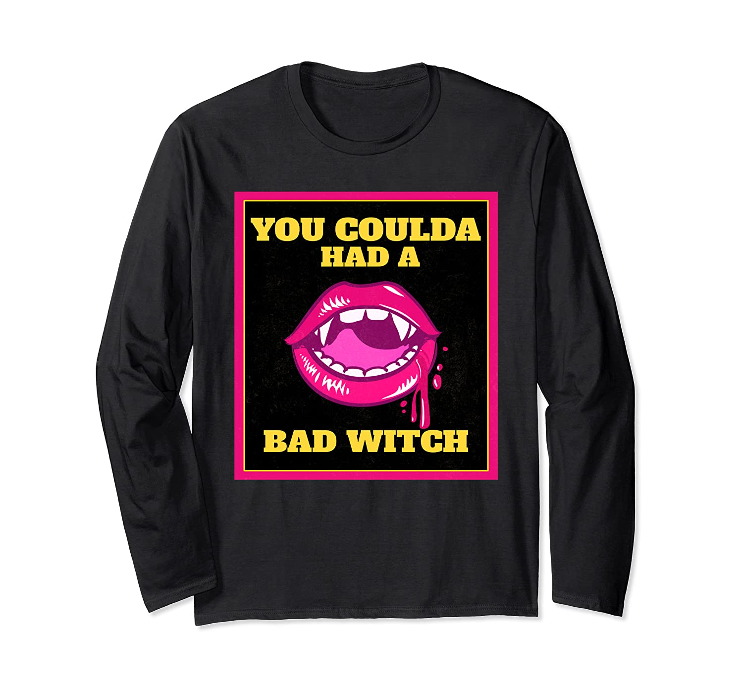 Lips You Coulda Had A Bad Witch Funny Halloween Gift T-shirt
