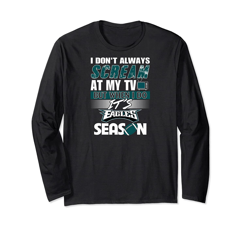 Eagles Fan Philly Eagles Phila Eagles Fan Shirts Long Sleeve T-shirt