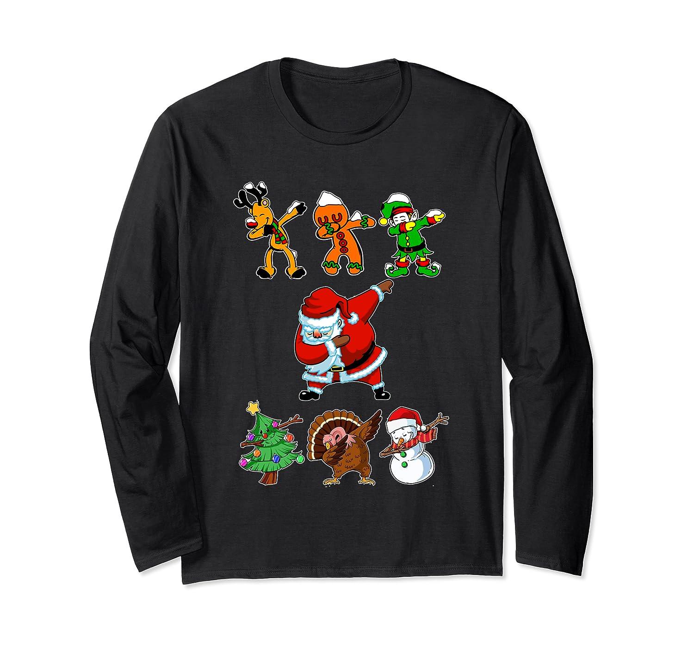 Dabbing Santa Friends Christmas Girls Xmas Gifts Shirts