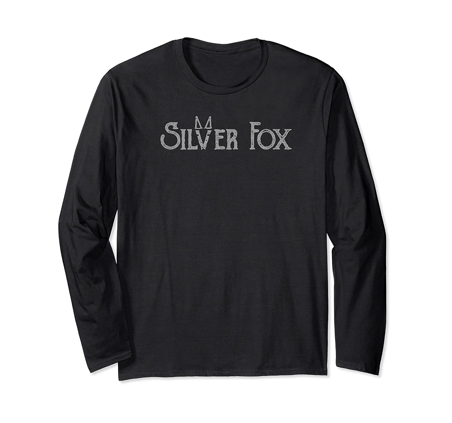 Silver Fox T Shirt For Sexy Silver Foxes, Baby Boomers Long Sleeve T-shirt