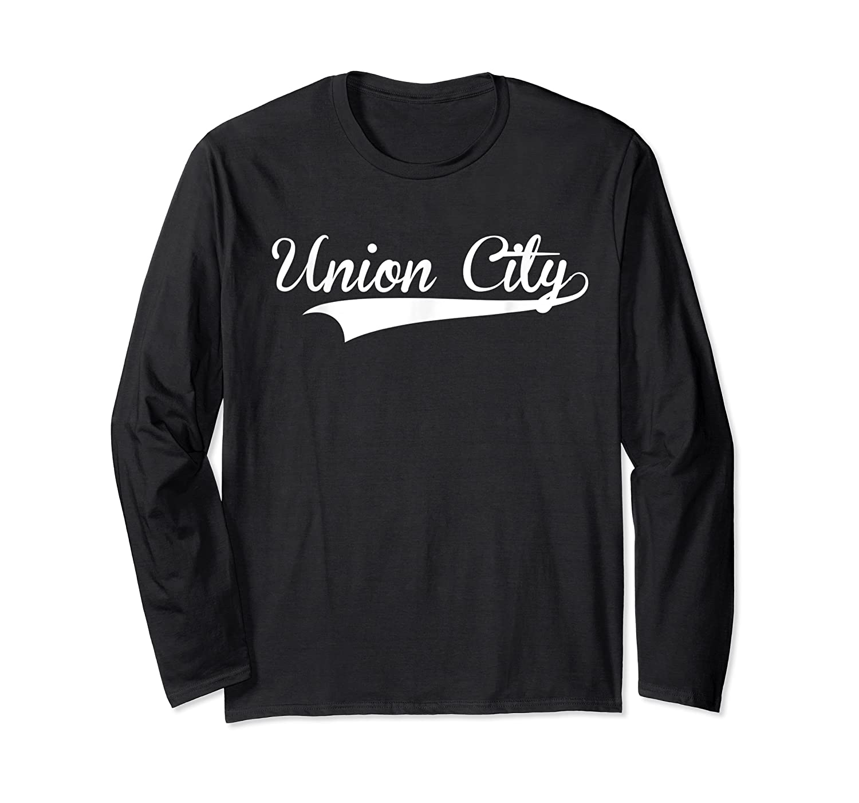 Union City Baseball Styled T Softball Shirts Long Sleeve T-shirt