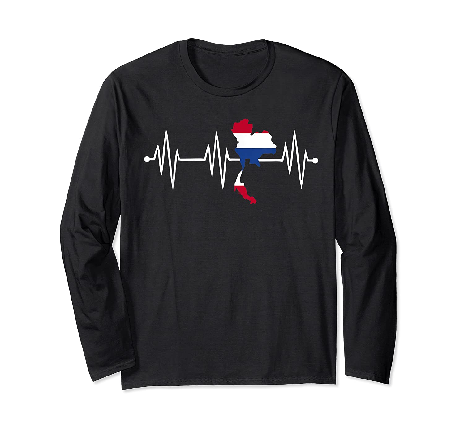 Heartbeat Thailand Shirt For And  Long Sleeve T-shirt