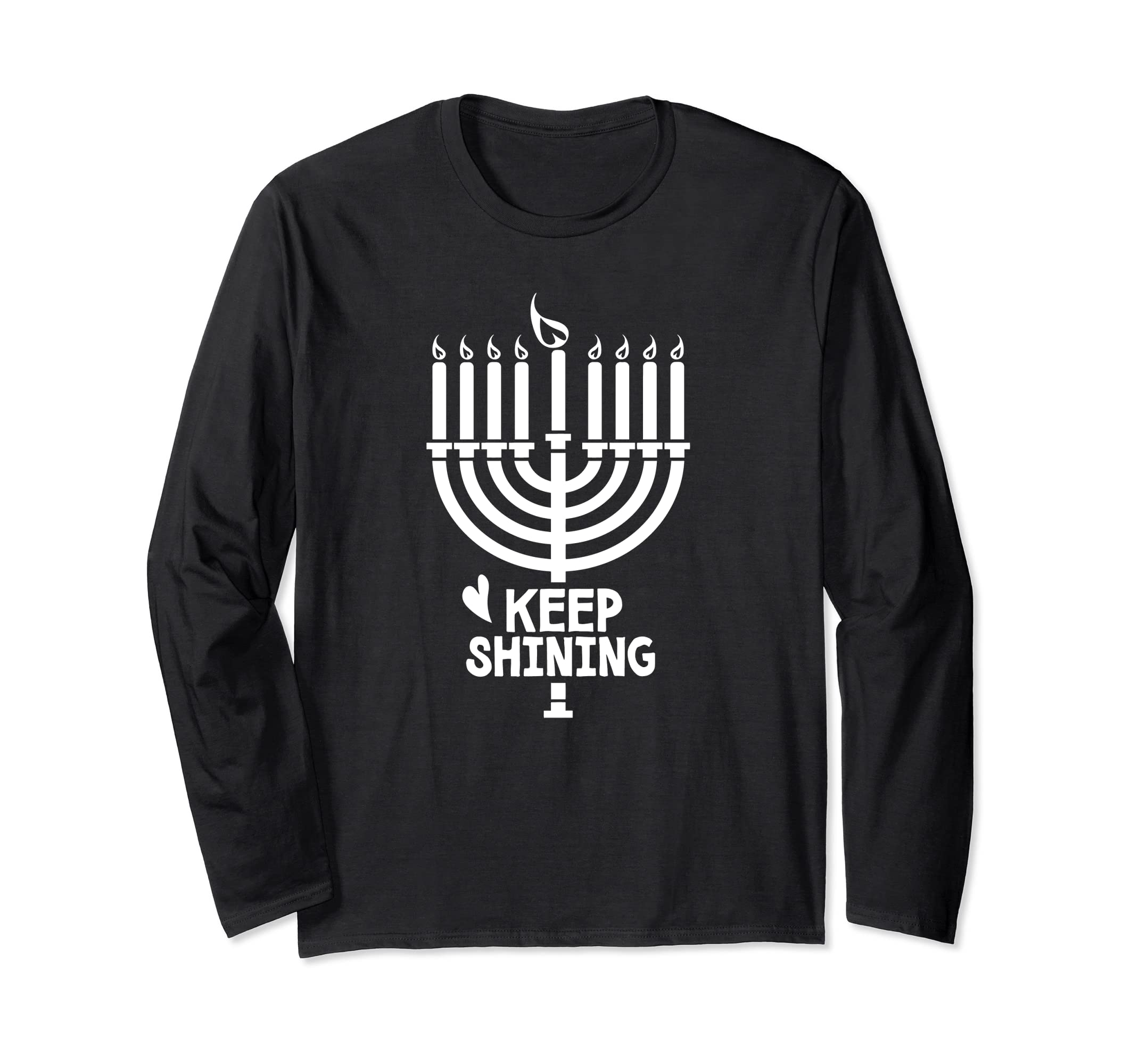 Free To Be Kids Hanukkah Shirt, Menorah Candles Holiday-SFL