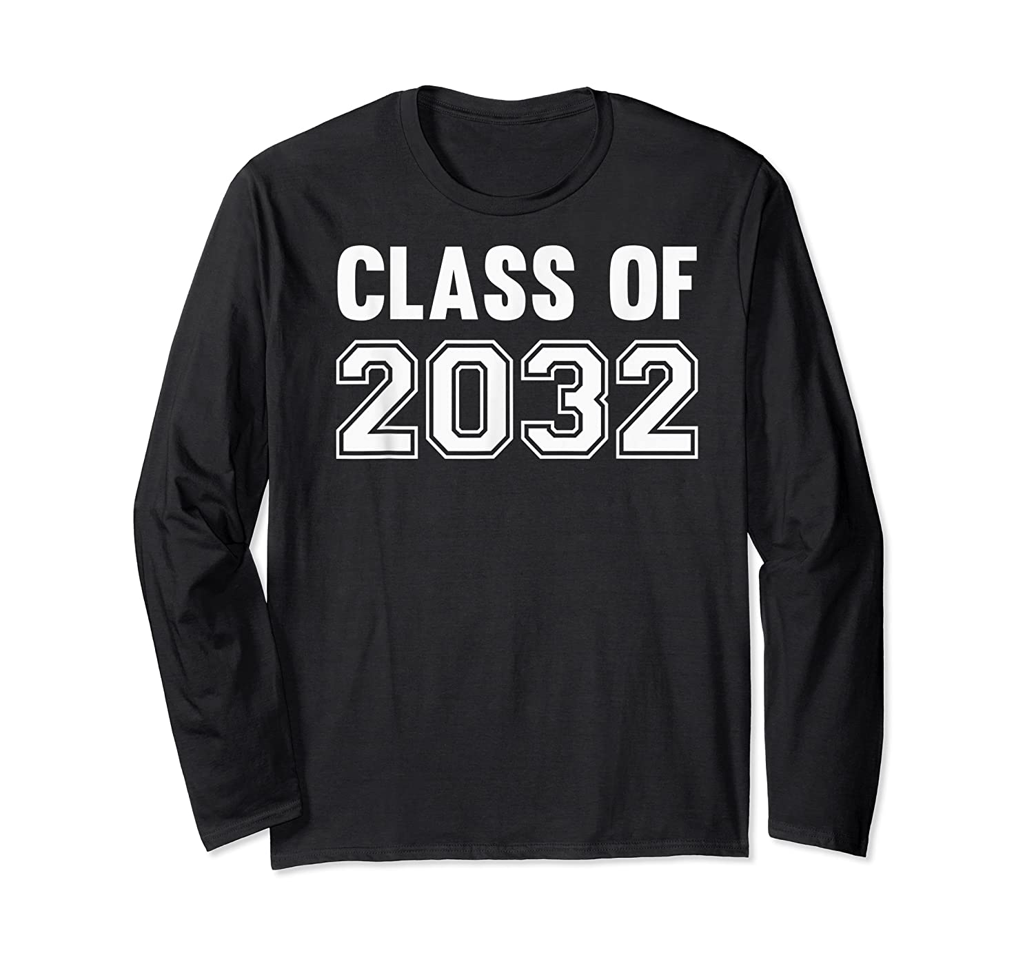 Class Of 2031 Grow With Me First Day Of School Shirts Long Sleeve T-shirt