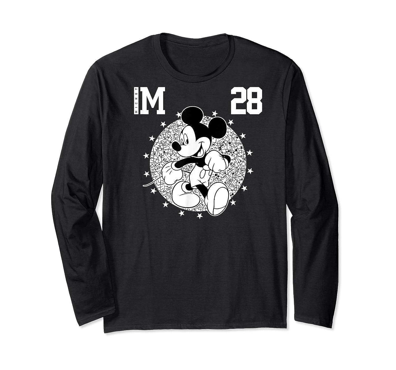 Disney Mickey Mouse Academy T Shirt Long Sleeve T-shirt