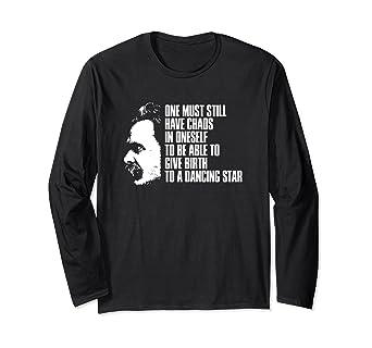 Amazon Nietzsche Chaos Dancing Star Zarathustra Quote Shirt