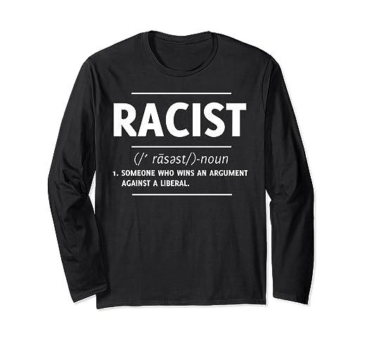 ed12c72caad45 Amazon.com: Racist T-shirt Halloween Christmas Funny Cool Holidays ...