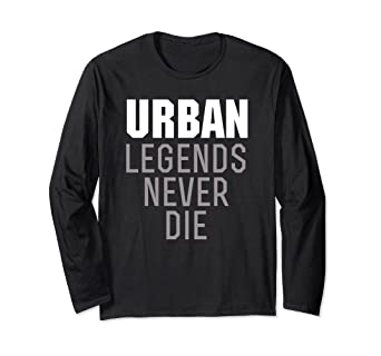 Amazon Urban Legends Never Die Sweater Clothing