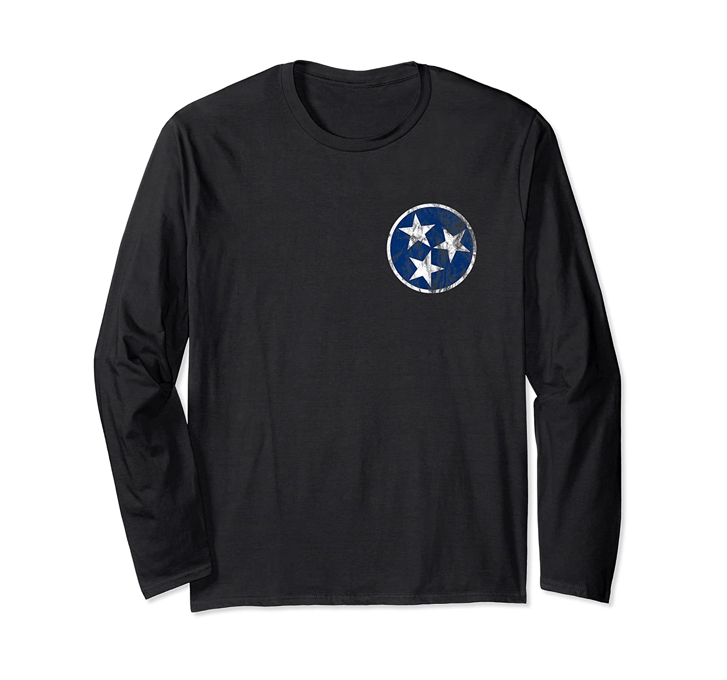 Tennessee State Flag Blue Stars Traditional Shirt Long Sleeve T-shirt