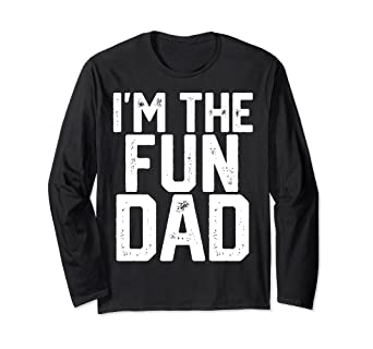 50eba2e9 Image Unavailable. Image not available for. Color: Christmas Gift For Men  Funny Fun Dad T-Shirt ...