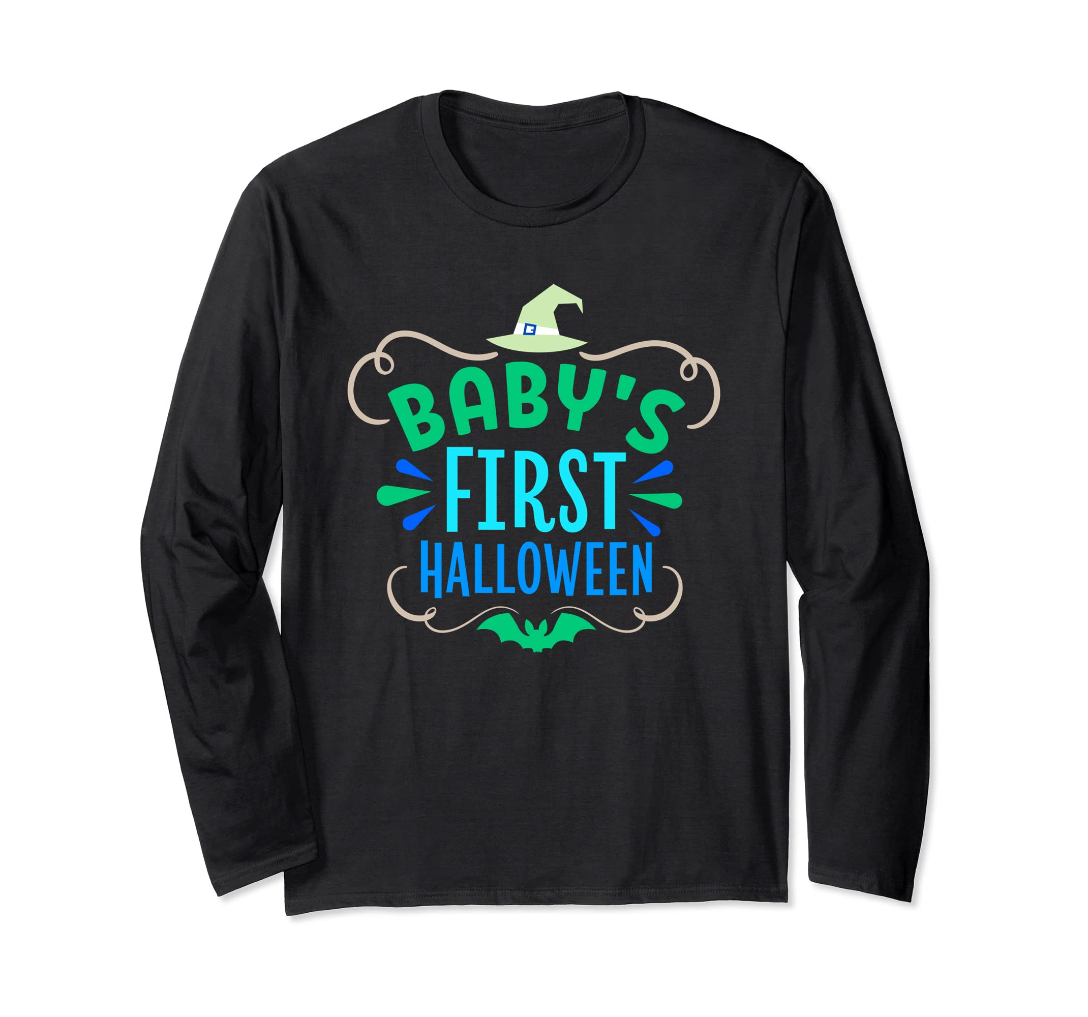 Baby's First Halloween - Not Just For Kids Long Sleeve-Rose