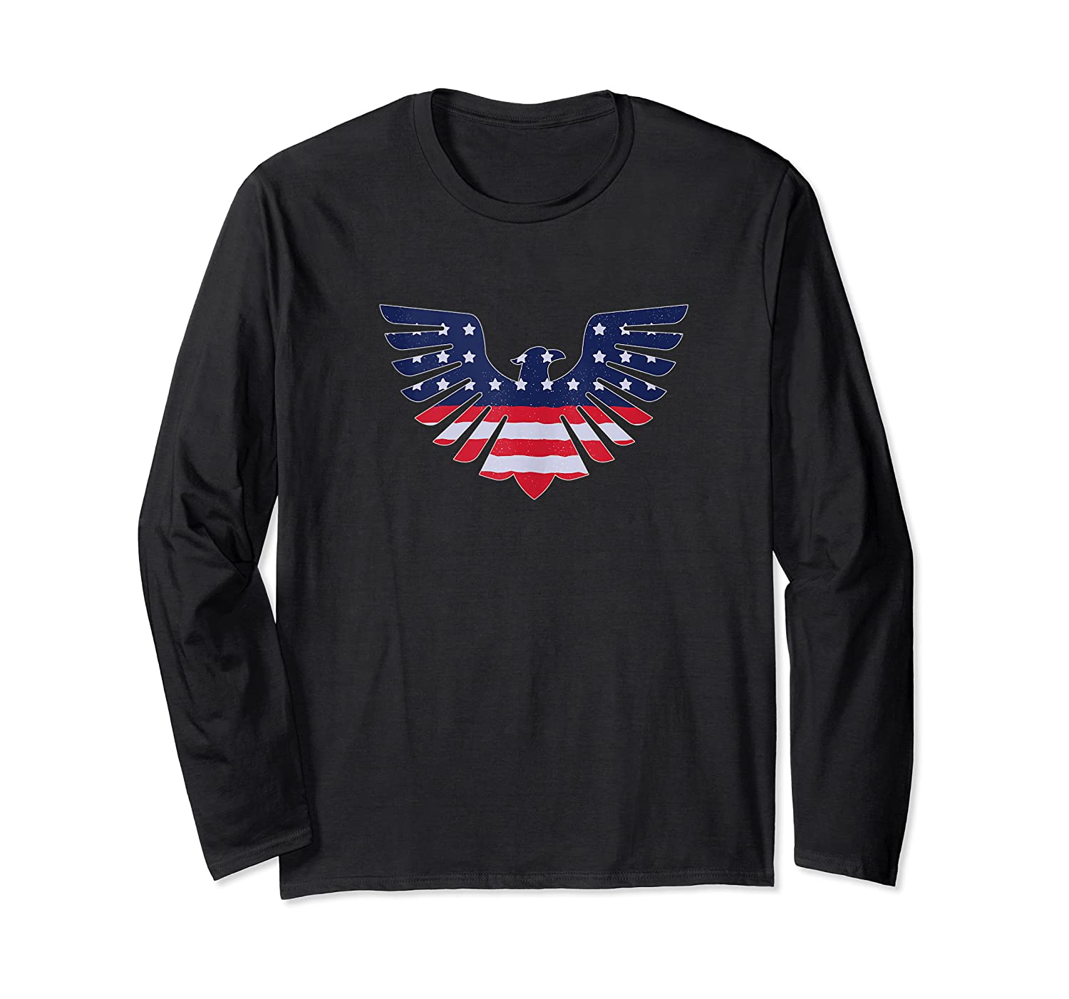American Bald Eagle - Usa Flag Independence Day 4th Of July Tank Top Shirts Long Sleeve T-shirt