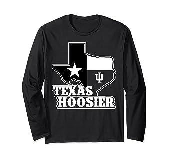 4746dbf23 Amazon.com  Indiana Hoosiers Texas Hoosier Long Sleeve T-Shirt ...