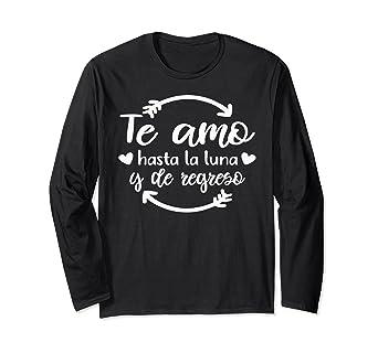 Camisetas manga larga de amor para parejas