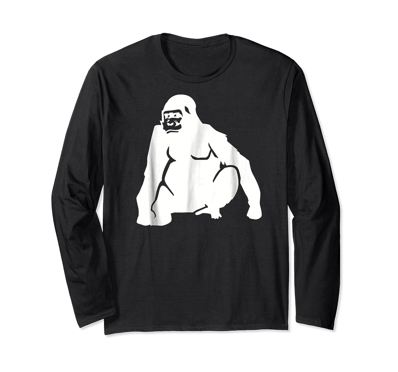 Huge Gorilla T-shirt Long Sleeve T-shirt