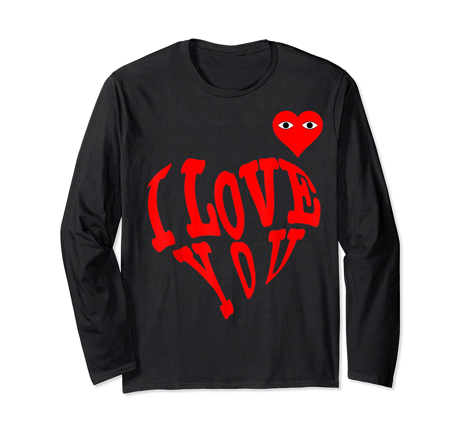 Heart For Comme Lovely In The Des Gift T-shirt Of Garcon Tee Long Sleeve T-shirt